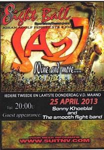 Promo 8Ball, 25 april 2013